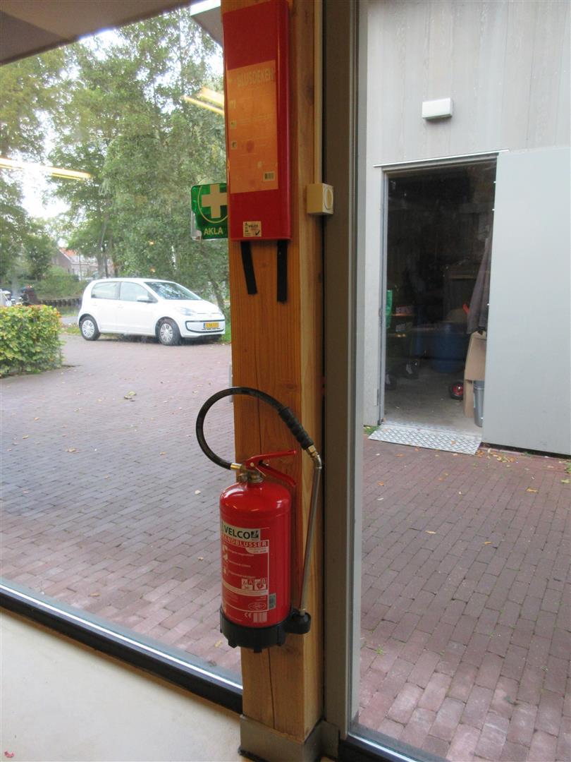 DION Vastgoed Support - Brandveiligheidsonderzoek Wetland Wonen, brandblusser